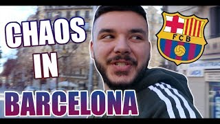 CanBroke | Chaos in Barcelona