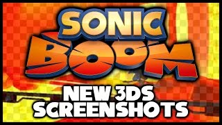 Sonic Boom - New 3DS Screenshots! (PAX Prime 2014)
