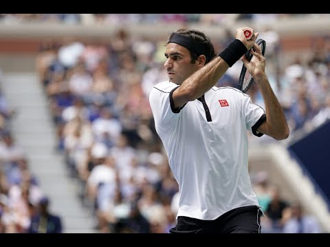 Roger Federer vs. David Goffin | US Open 2019 R4 Highlights