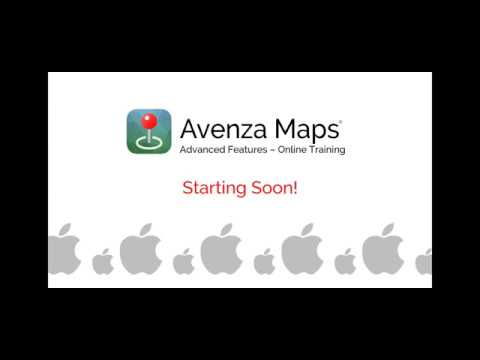 Avenza Maps - Folders, Collections & Import Options (iOS)