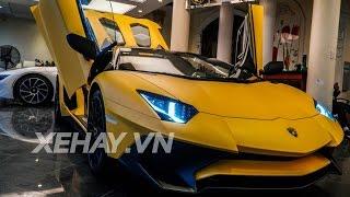 [XEHAY.VN] Chi tiết Aventador SV mui trần duy nhất giá 39 tỷ tại Việt Nam
