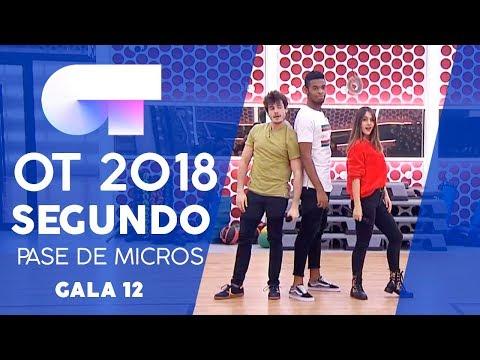 CALYPSO - FAMOUS, MIKI y SABELA   SEGUNDO PASE DE MICROS GALA 12   OT 2018