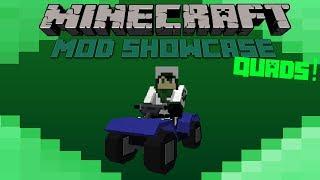 Minecraft Mod Showcase- QUADS!! AWESOME ATV'S!!