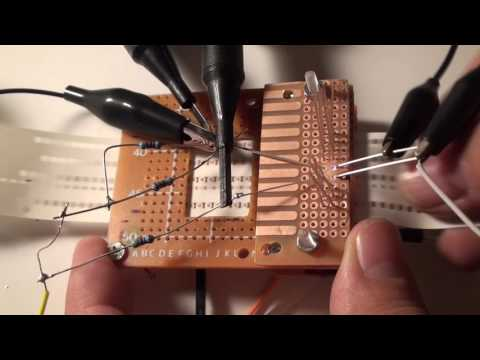 Punched paper tape reader DIY test oscilloscope