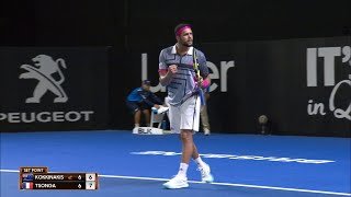 Jo-Wilfried Tsonga v Thanasi Kokkinakis match highlights (1R) | Brisbane International 2019