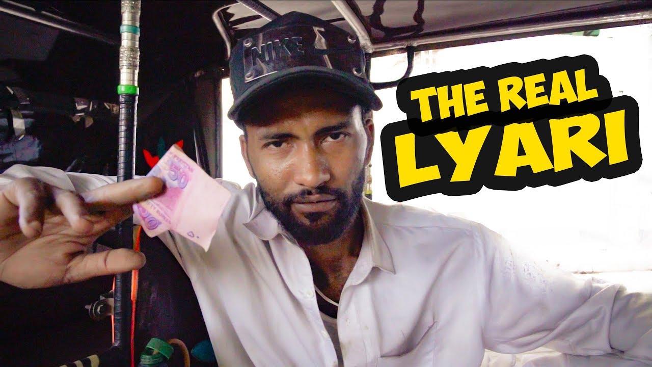 American Rickshaw Wala raveling Pakistan Lyari Vlog #2