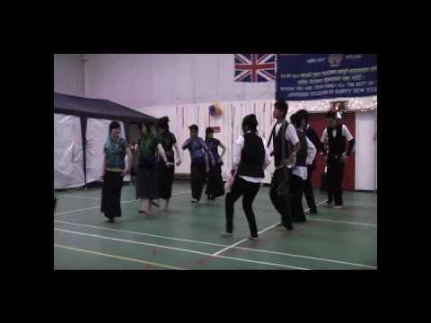 Bajho Khetma Group nepali Dance (New Year 2067 Hou...