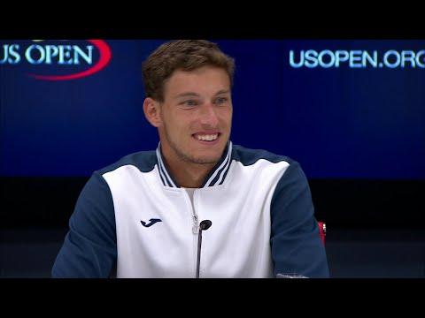 2017 US Open: Pablo Carreno Busta QF Press Conference (Spanish)