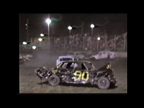 1998 Watsonville Speedway Demo derby TONS OF OLD IRON