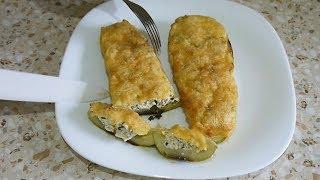 Кабачки фаршированные с любой начинкой. Самый простой и вкусный рецепт.