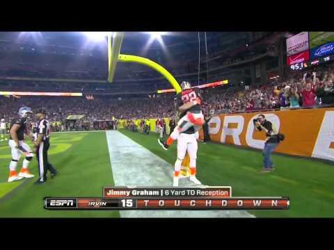 2015 Pro Bowl Matthew Stafford to Jimmy Graham TD
