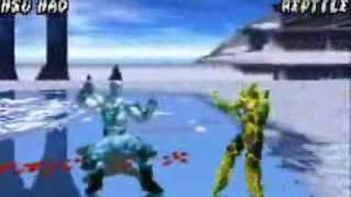 Mortal Kombat Tournament Edition Combo Exibition