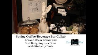 The Spring Coffee/Beverage Bar Collaboration:  My Mini Cocoa Bar