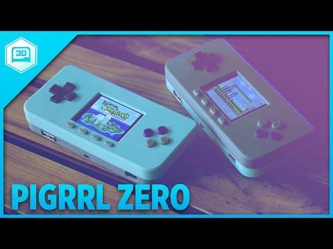 PiGRRL Zero #RaspberryPi #3DPrinting