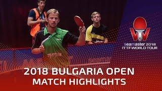 Par Gerell vs MA Te   2018 Bulgaria Open Highlights (Group)