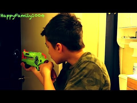 Nerf War: Zombies Attack -  THE ZOMBIE INFECTION - Part 23!