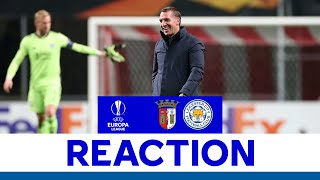 'Excellent Second Half' - Brendan Rodgers | SC Braga 3 Leicester City 3