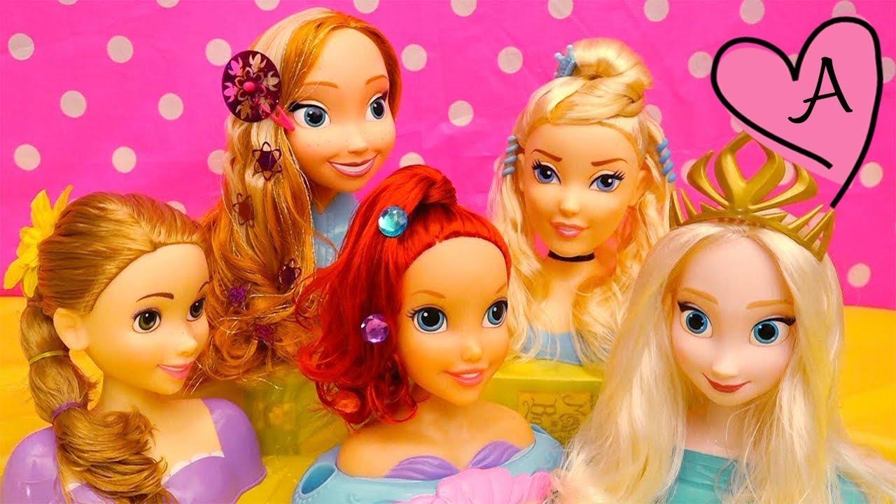Peinados para princesas de disney mu ecas y juguetes con for Fotos de garajes bonitos