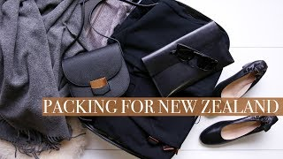 New Zealand Winter Packing List (carry on only) for a 5 day holiday | Mademoiselle