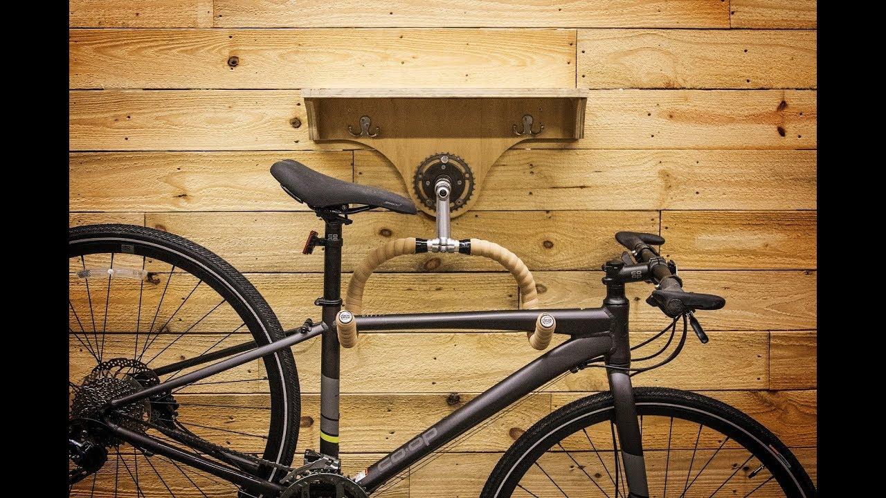 Diy Bike Rack Rei Youtube