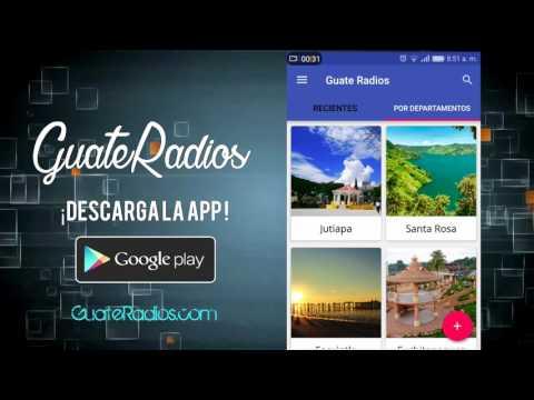 Guate Radios App Promo video