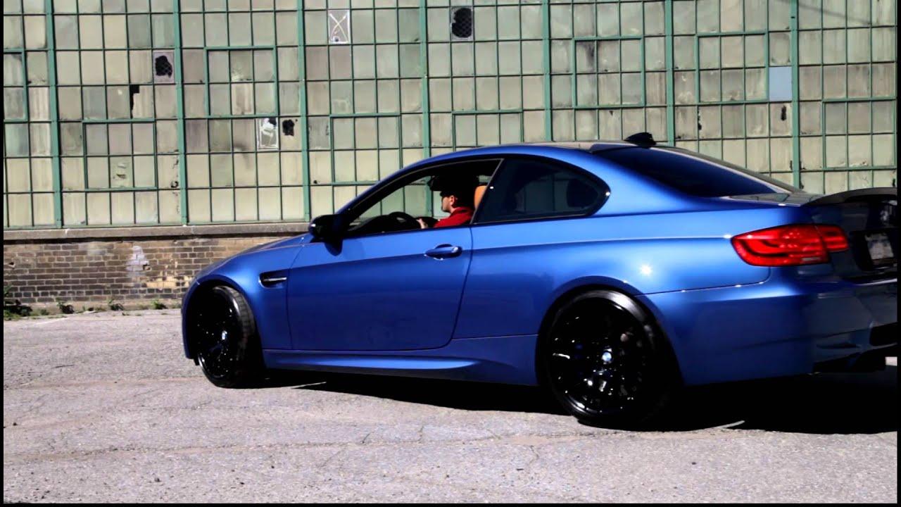 Monte Carlo Blue BMW M3 Photoshoot - YouTube