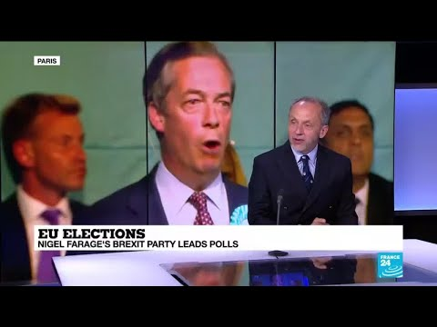 EU Elections: Nigel Farage's Brexit party leads polls