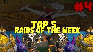 2 Million loot attack! // Top 5 Raids of the Week #4 // Clash of Clans