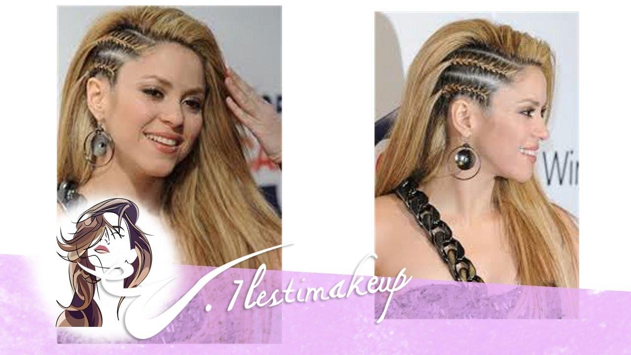 Trenzas Laterales De Shakira Pedido Debora Y Moctezuma Youtube - Peinados-con-trenzas-a-un-lado