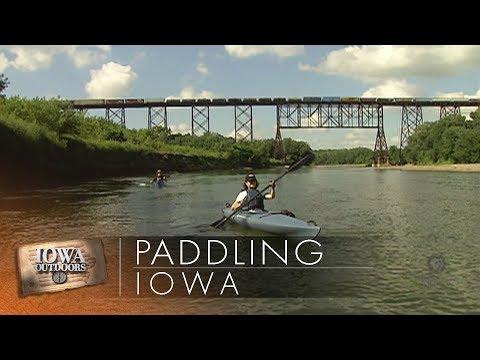 Paddling Iowa