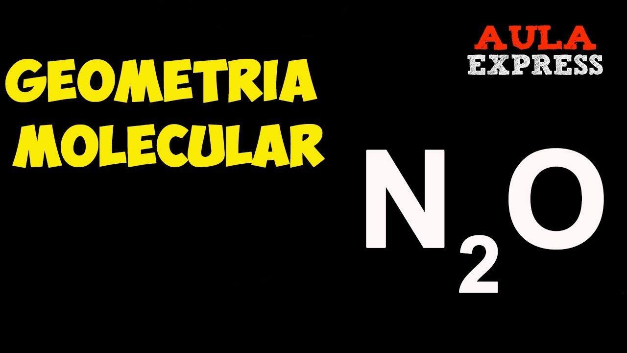 Química Geometría Molecular N2o Trecpv Ejercicio Resuelto Bachillerato Aulaexpress