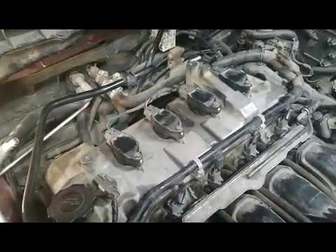 Регулировка клапанов Mazda 3 1,6 MZR Z6