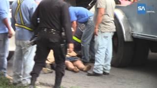 Fatal Accidente en Santa Ana
