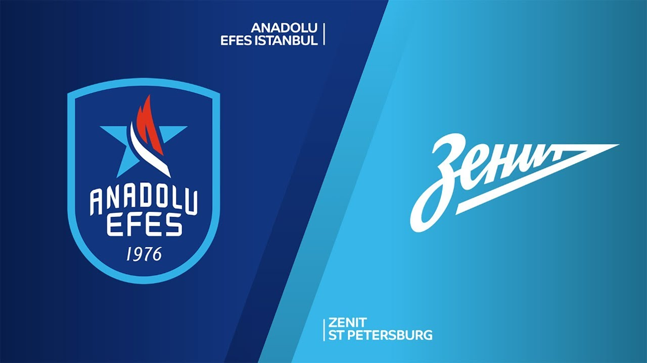 ANADOLU EFES - ZENIT ST PETERSBURG