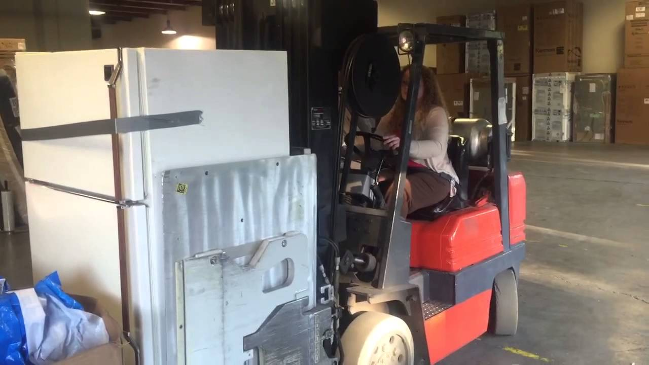 Clamp Forklift Controls : Clamp truck training youtube