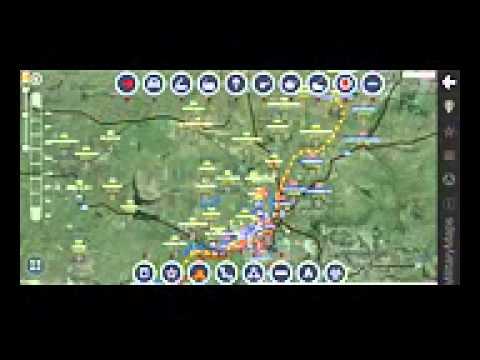 карта донецка / донецк последние / погода в донецке