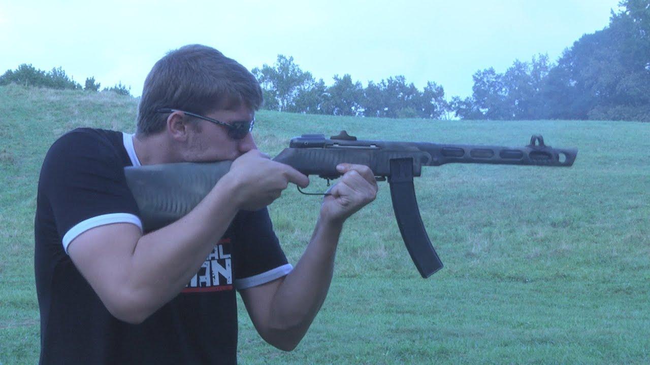 Russian PPSH-41 Sub-Machine Gun!!!