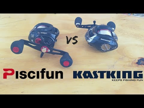 KastKing vs Piscifun – Which $40 Baitcasting Reel is BETTER?