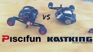 KastKing vs Piscifun - Which $40 Baitcasting Reel is BETTER?