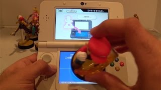 New 3DS: Using Amiibo in Super Smash Bros