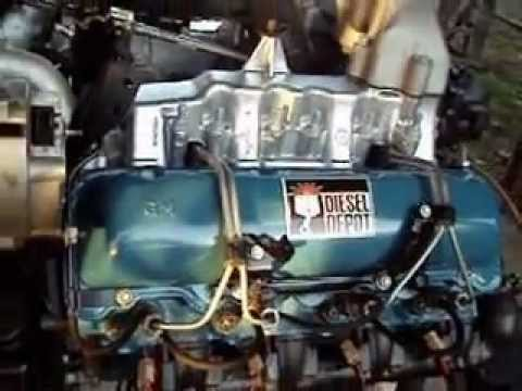 6.5L GM Rear Turbo Diesel Depot Kevin Champoux.avi - YouTube