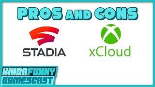 Google Stadia vs xCloud Hands-On Impressions - Kinda Funny Gamescast Ep. 248