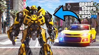 GTA 5 Mods - Bumblebee Undercover Police Officer!! (LSPDFR Gameplay)