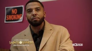Behind-the-Scenes of #SaintsandSinners with Christian Keyes