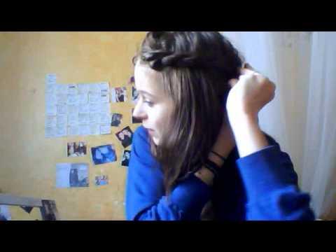 Coiffure ] Torsade de la frange. - YouTube