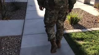 Our Infantryman Surprising Mom For Christmas