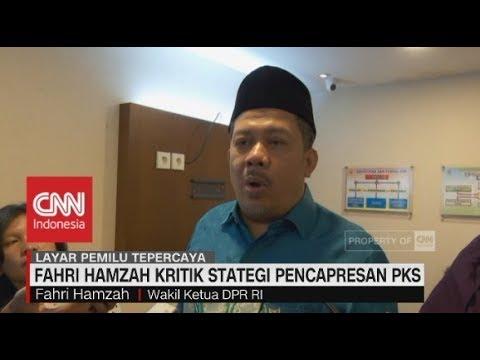Ini Kritik Keras Fahri Hamzah ke Pimpinan PKS Soal Pencapresan