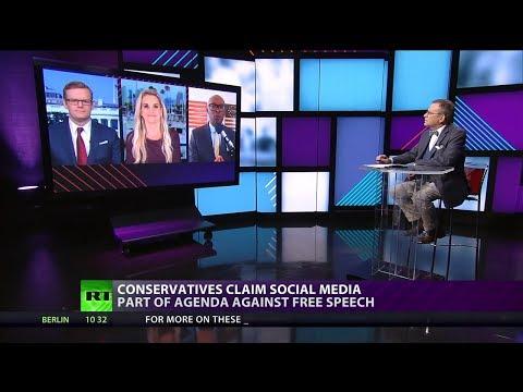 Silencing Conservatives #CROSSTALK on @RT