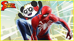 Marvel's Spider-man Game with Combo Panda  Collect All new spider suits