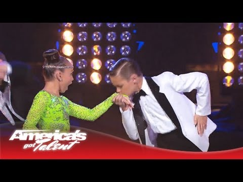 Ruby & Jonas - Kids Dance and Boogie to 'Runaway Baby' by Bruno Mars - America's Got Talent 2013